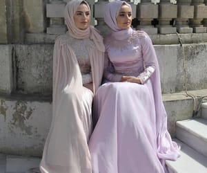 fashion, hijab, and modesty image