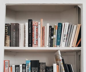 bookcase, books, and popular image