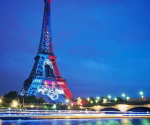 by night, champion, and eiffel tower image