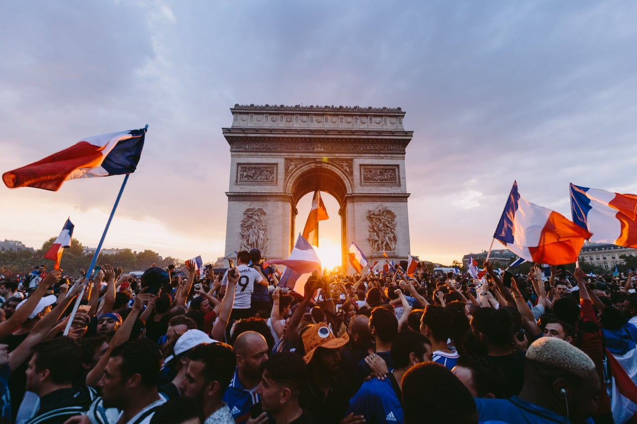 champion, crowd, and france image