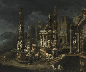 17th century, beautiful, and night image