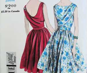 fashion, sewing patterns, and vogue image