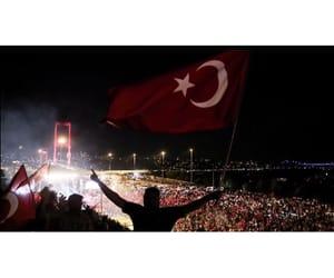 flag, Turkish, and ️️️️turkiye image