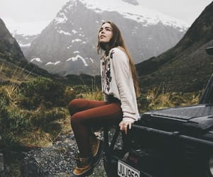 girl, nature, and inspiration image