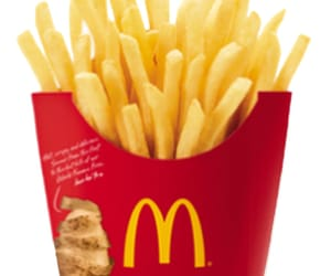 food, fries, and overlay image