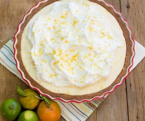 cake, lemon, and pastry image