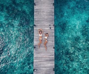 beach, drone, and memories image