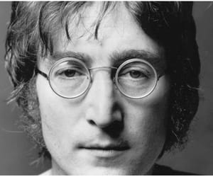 john lennon, the beatles, and glasses image