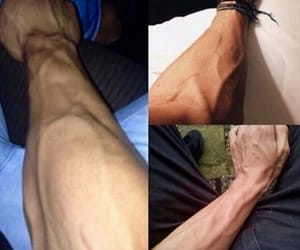 boy, male, and veins image