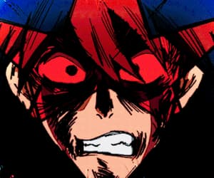 gif, tengen toppa gurren lagann, and simon the digger image