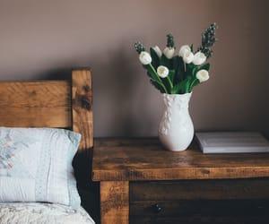 flower, bedroom, and garden image
