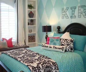 color, girls, and room decoration image