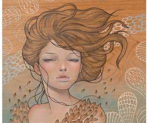 audrey kawasaki, sea, and woman image