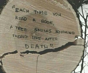 book, quotes, and tree image