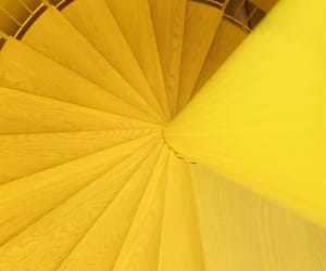 yellow, stairs, and aesthetic image
