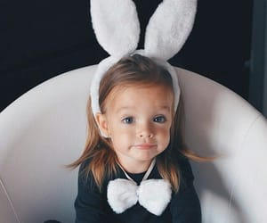 bunny, children, and fashion image