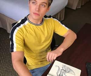 boy, yellow, and froy gutierrez image