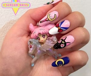cat, lilac, and nails image