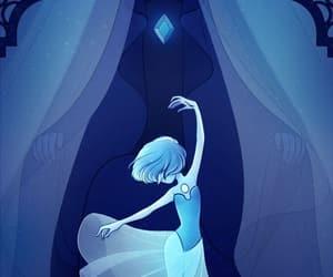 steven universe, diamante azul, and perla azul image