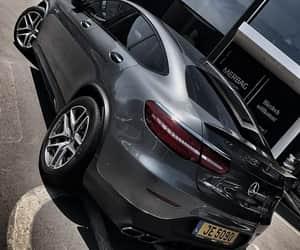 black, car, and love image