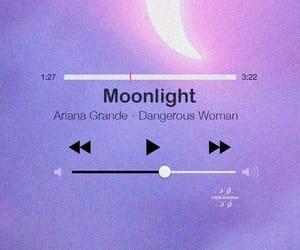 moonlight, ariana grande, and wallpaper image