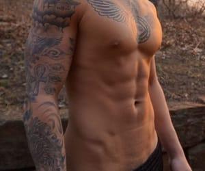 beach, Tattoos, and boys image