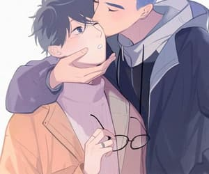 bl, couple, and manhwa image
