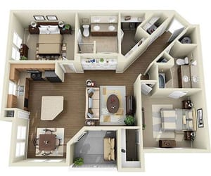 floor plan, home, and house image