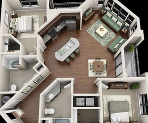 floor plan, designe, and home image