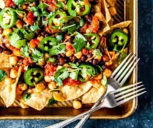 nachos and vegan image