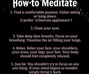 growth, meditation, and self love image