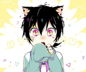 anime, kagerou project, and kuroha image