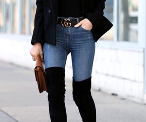 style, boots, and fashion image