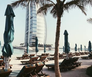 beach, Dubai, and holiday image