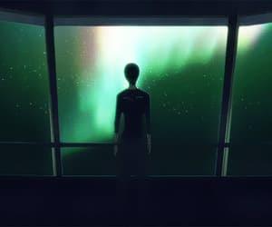 9, aurora, and gif image