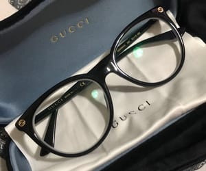 glasses, gucci, and blind image