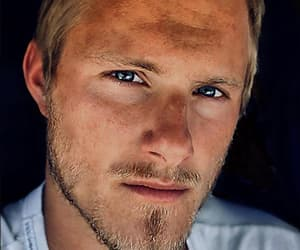 blond, handsome, and blue eyes image