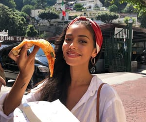 cindy kimberly, fashion, and pizza image