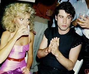 70s, John Travolta, and grease image