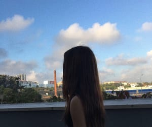city, sky, and girl image