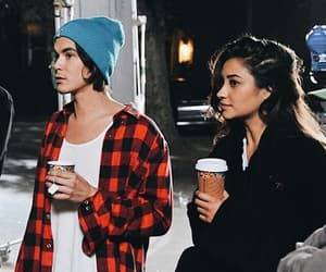 pretty little liars, shay mitchell, and tyler blackburn image