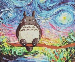 totoro, anime, and art image