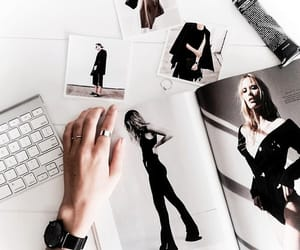 fashion, style, and magazine image