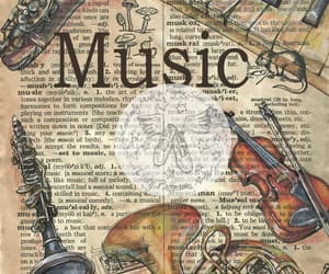 beautiful, music, and musical instrument image