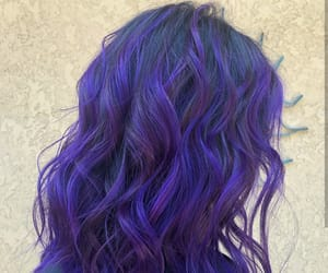 color hair, hair, and pretty image