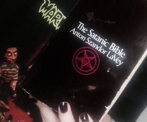 aesthetic, alternative, and anton lavey image