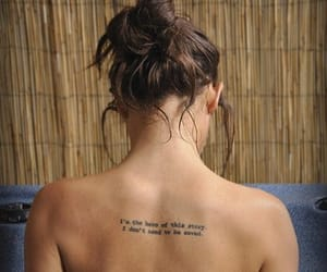 tattoo, hero, and quotes image