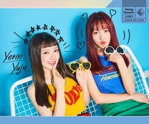 yuju, gfriend, and yerín image