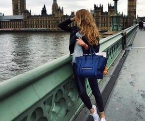 fashion, london, and style image