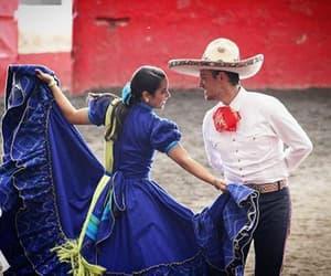 baile, couple, and jarabe tapatio image